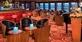 Norwegian Jewel cruise ship Star Bar with a 1930's theme.