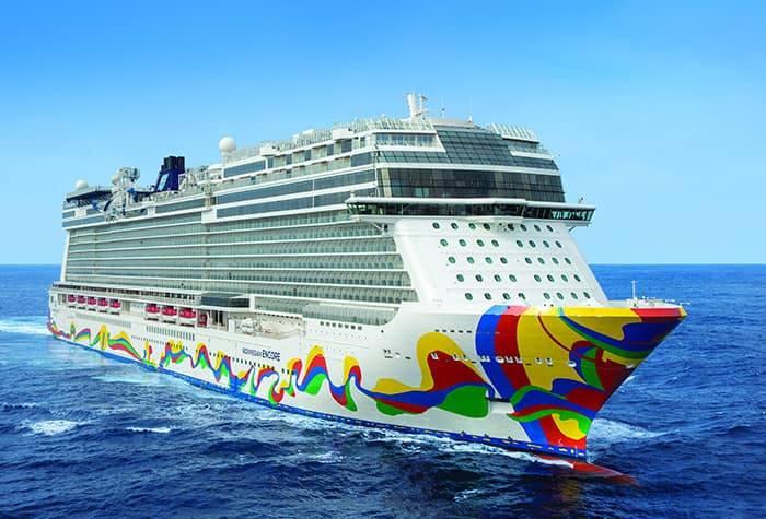 Norwegian Encore Makes Her Big Debut