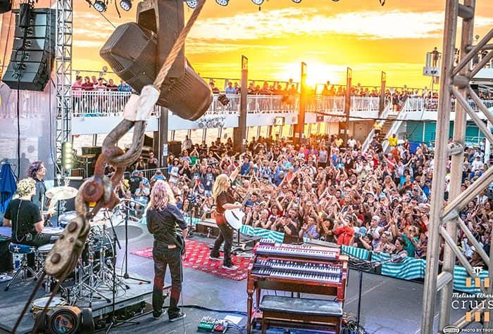 I più grandi festival in mare