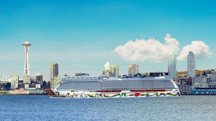 Norwegian Encore Will Cruise from Seattle