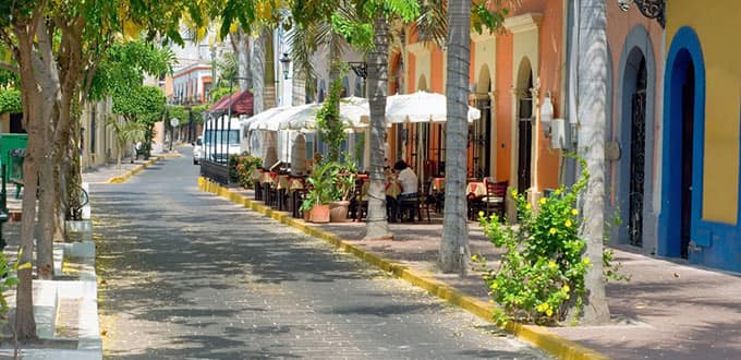 Enjoy a leisurely stroll through the historic district in Mazatlan