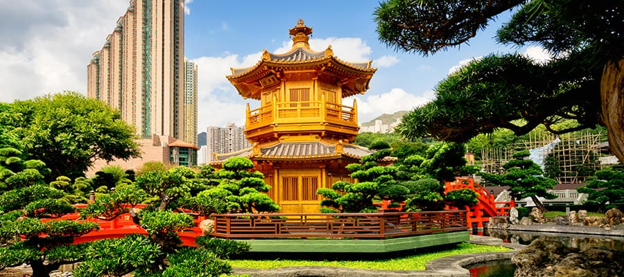 Giardino di Nan Lian, Hong Kong