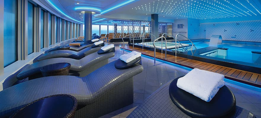 Thermal Suite auf der Norwegian Getaway