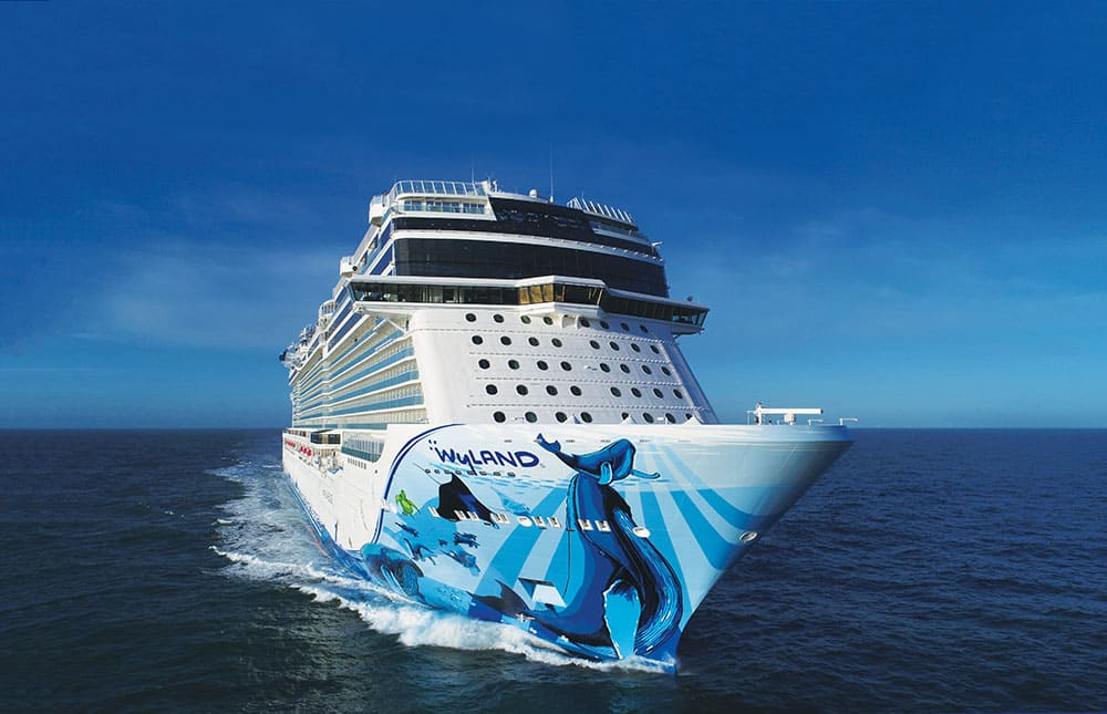 Norwegian Cruise Line entrega el Norwegian Bliss