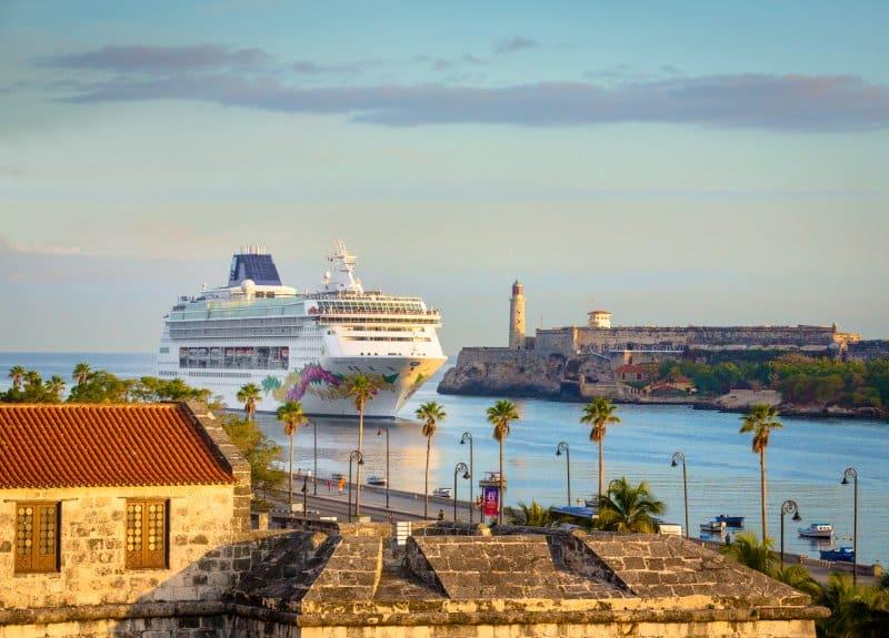 Norwegian Sky in Havana, Cuba