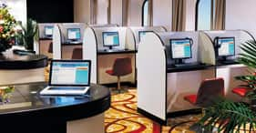 Norwegian Epic cruise ship i-Connect Internet Cafe