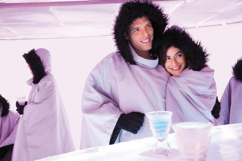Cool Off at Norwegian's Ice Bar