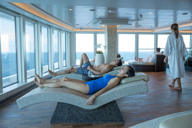 Mandara Spa on Norwegian Escape