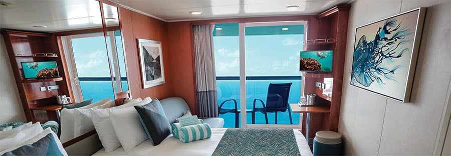 Cabina con Balcone Norwegian Gem
