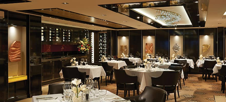 The Haven Restaurant on Norwegian Getaway