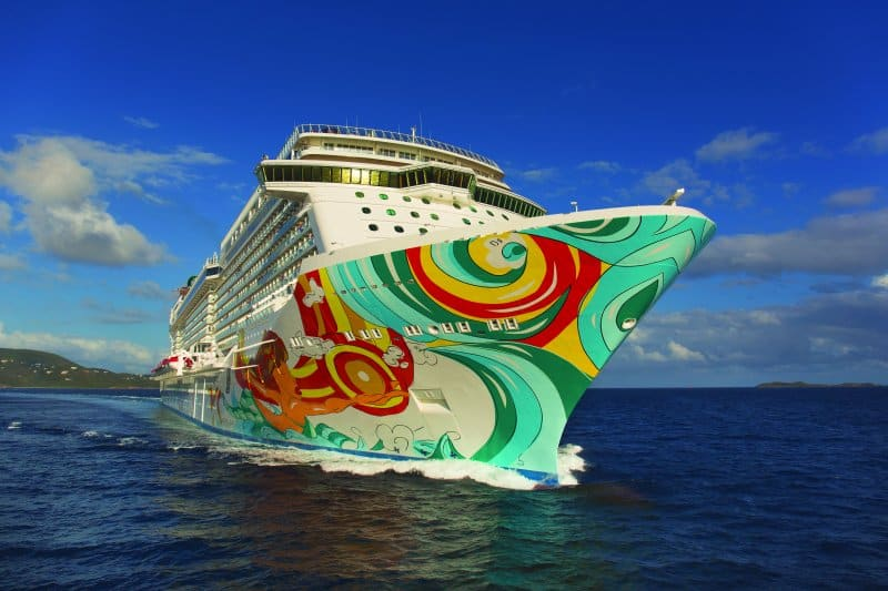 Norwegian Getaway Undergoes Bow-to-Stern Enhancements