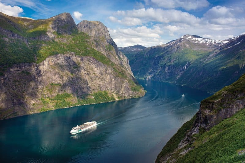 Cruise Through Norwegian Fjords