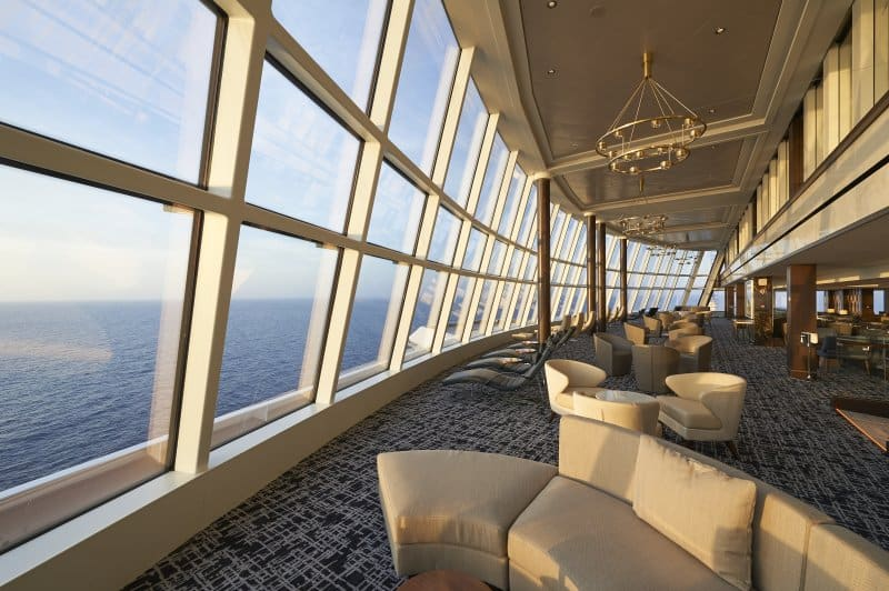 Image result for norwegian joy observation lounge