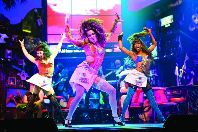 Rock of Ages on board Norwegian Cruise Line