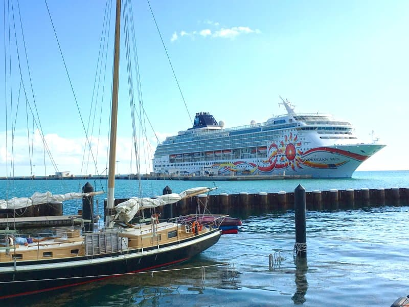 Norwegian Sun Undergoes Bow-to-Stern Enhancements