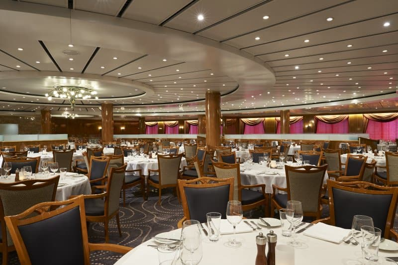 Norwegian Sun Four Seasons Dining Room