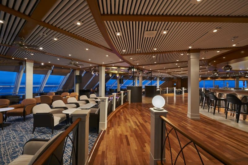 Norwegian Sun Spinnaker Lounge