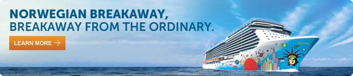 norwegian breakaway, breakaway from the ordinary