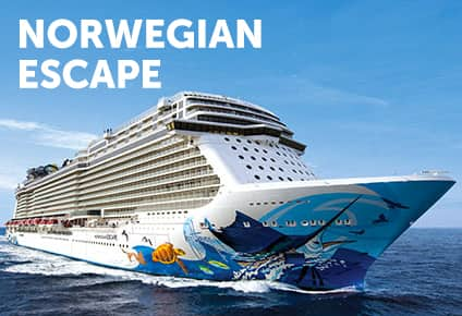 Cruzeiros no Caribe no Norwegian Escape