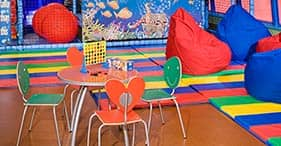 Norwegian Pearl cruise ship Aqua Kid's Club with activities for children.