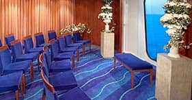 Norwegian Pearl cruise ship Chapel can also be used a meeting room.