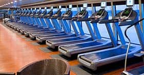 Norwegian Pearl cruise ship Body Waves Fitness Center with classes from 6am to 1