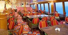 Norwegian Pearl cruise ship Garden Café with children's section.
