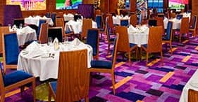 Norwegian Pearl cruise ship Indigo main Dining Room.