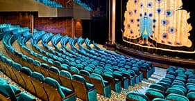 Norwegian Pearl cruise ship Stardust Theater with Broadway and Vegas style shows