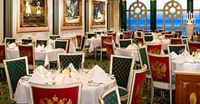 Norwegian Pearl cruise ship Summer Palace Main Dining Room.