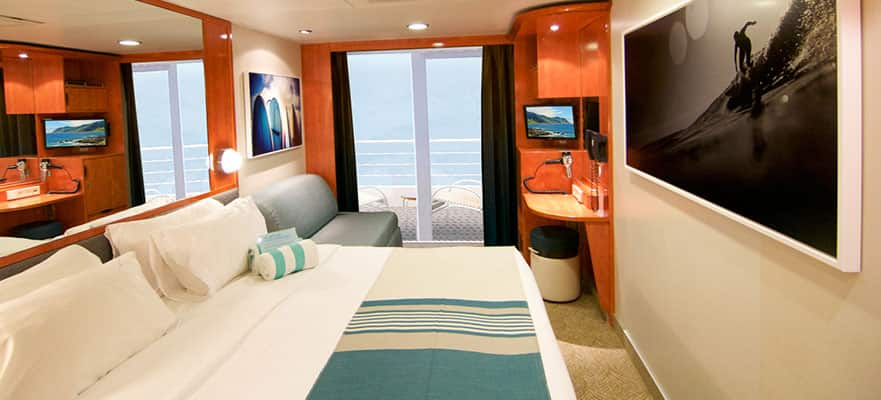 Camarote con balcón grande