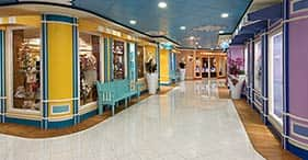 Pride of America cruise ship Newberry Street Shops offer a wide selection of bra