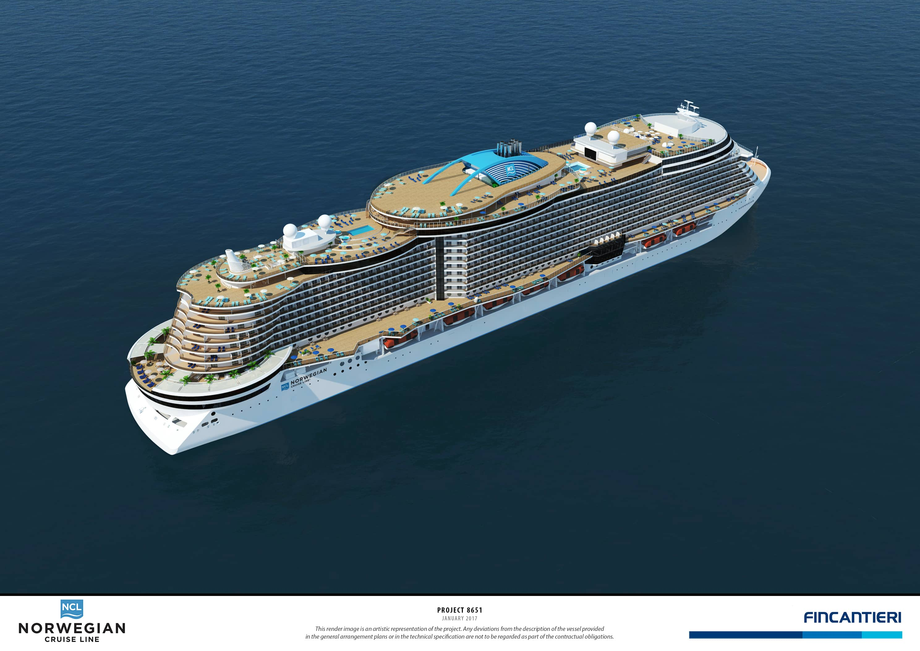 Norwegian cruise line holdings announces order for next for Best us cruise lines