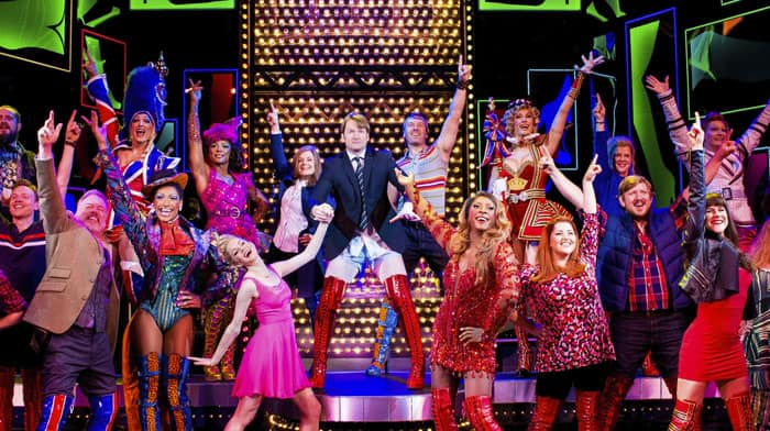 Norwegian Encore Entertainment Kinky Boots