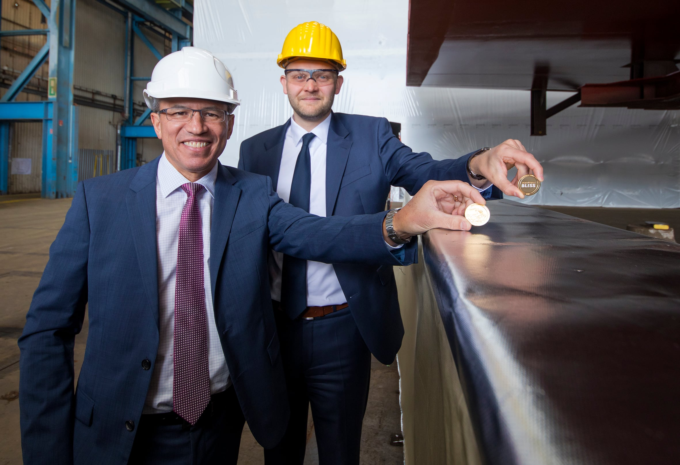 Norwegian Bliss' keel laying ceremony held at Meyer Werft in Germany