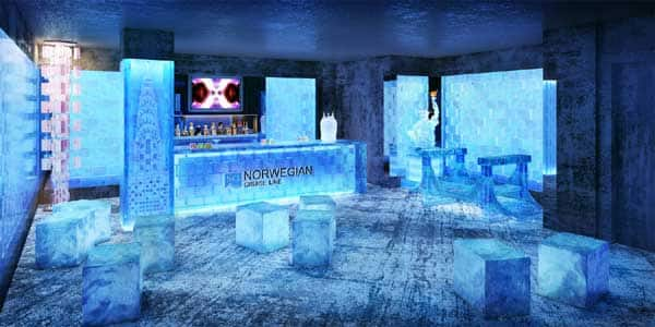 Image result for norwegian cruise ship ice bar