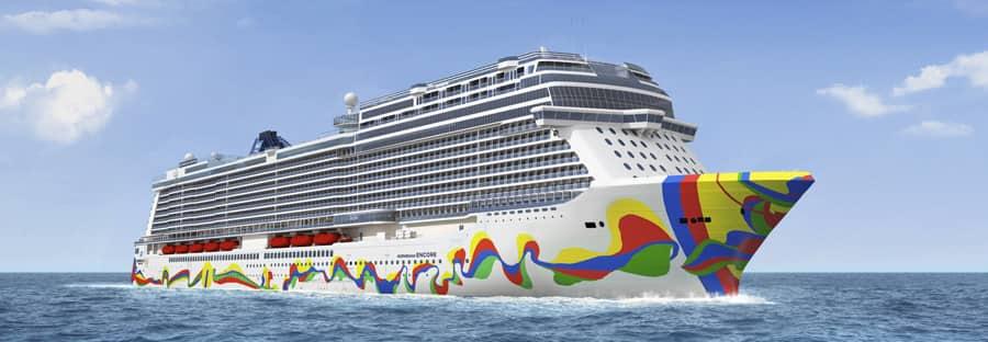 Norwegian Encore Hull Artwork Unveiled
