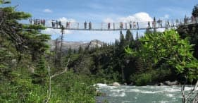 White Pass Railway & Suspension Bridge