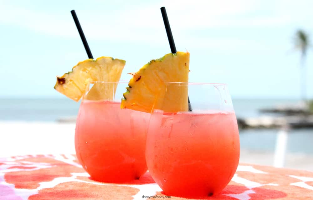 Try Tropical Rum Punch in The Bahamas