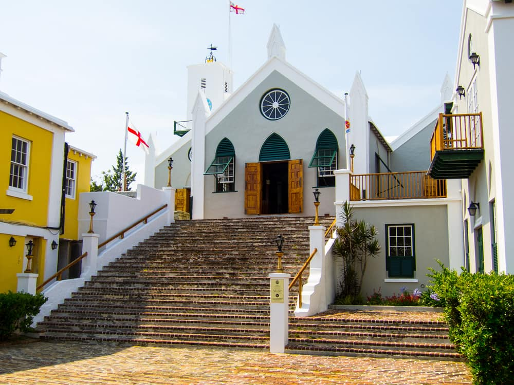 Visit St. Peter's Church in St. George's on a Cruise to Bermuda