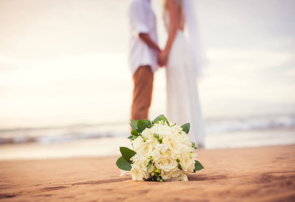 Casamento na praia em Bermudas