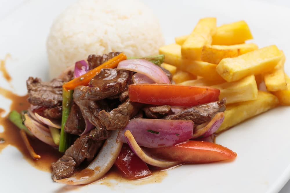 Peruvian Lomo Saltado on a Cruise to South America with Norwegian