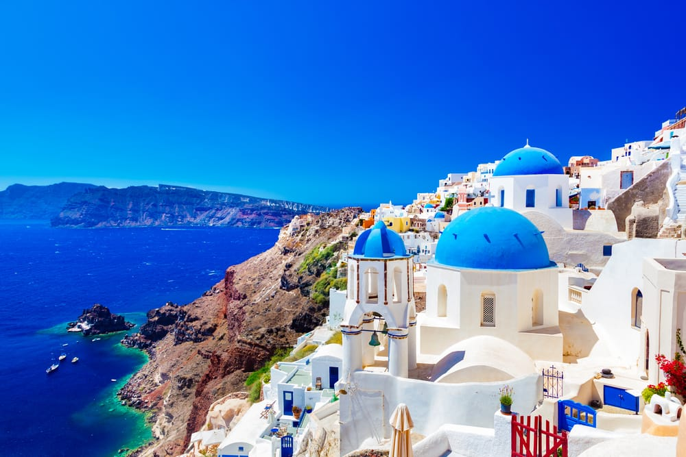 Cruise to Santorini on a Greek Isles Cruise with Norwegian