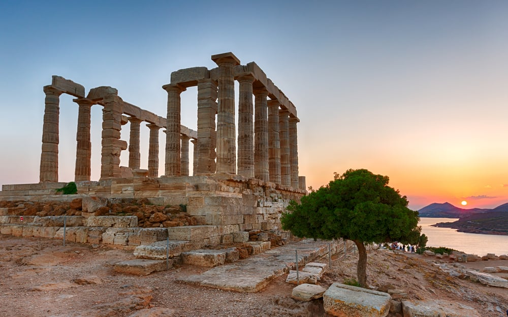 Visit the Temple of Poseidon on a Greek Cruise with Norwegian