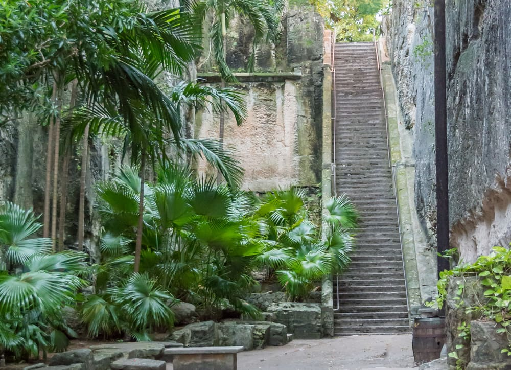 Cruise to Nassau - Queen's Staircase