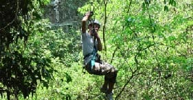 Tropical Forest Canopy Adventure