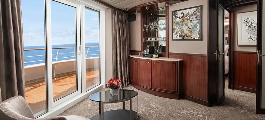 Aft-Facing Penthouse with Master Bedroom & Large Balcony