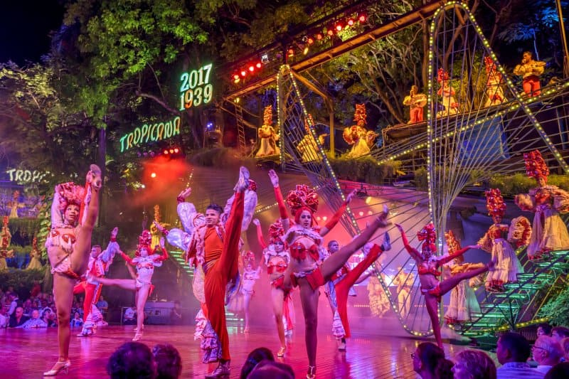 Cruising to Cuba: Spotlight on Havana's Cabaret Tropicana