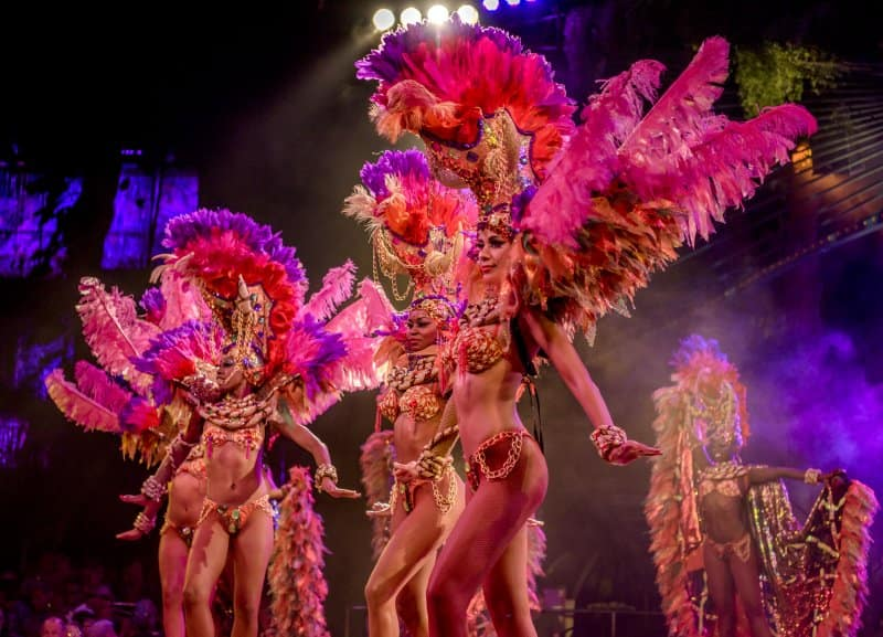 Cruise to Cuba - Cabaret Tropicana Showgirls