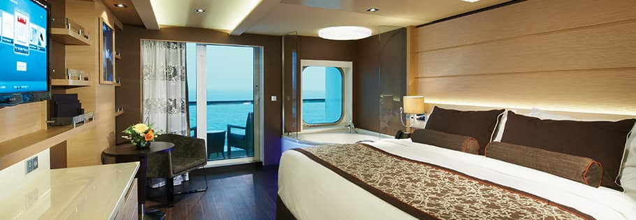 Spa Suiten an Bord der Norwegian Breakaway
